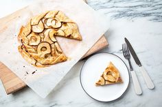 Use a wide spatula to peek underneath your galette to make sure the bottom is golden brown all the way across.
