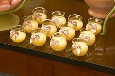 Brigadeiro de chocolate branco e limão siciliano