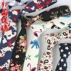 Tie male Korean tide narrow all-match leisure pattern pieces 5cm Mianma groom wedding fashion necktie Mens Business