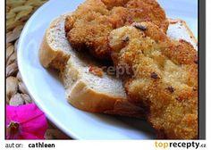 Soukenický sekaný řízek recept - TopRecepty.cz Vegan Breakfast Recipes, Delicious Vegan Recipes, Plant Based Recipes, Ham, Banana Bread, French Toast, Bacon, Pork, Health Fitness