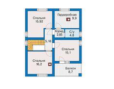 Проект коттеджа из пеноблока 59-77 :: Интернет-магазин Plans.ru :: Готовые проекты коттеджей Floor Plans, Diagram, How To Plan, Projects, House, Log Projects, Blue Prints, Home, Homes