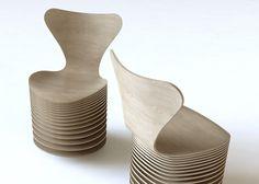 Zaha Hadid, BIG and others reinterpret Arne Jacobsen's Series 7 chair for Fritz Hansen.