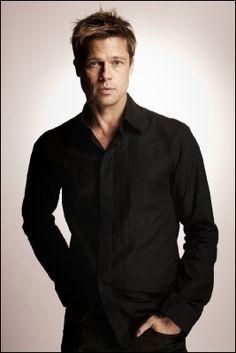 man in sleek black