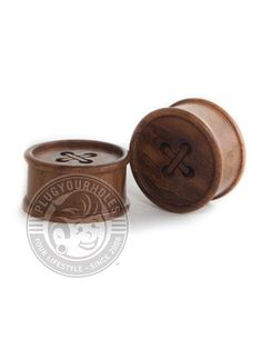 """Description What is it? Great for your ears and easy on the nose, wood plugs are always a great idea. Try not to wear them in water, and make sure you keep them away from fire. Product Details What is it made of? Material: Wood Plug Size: 0g-5/8"""" Wearable Area: 10.8mm *Please note that these measurements are based on averages* Class: Wood Color: Wood Wood Plugs, Plugs Earrings, Tunnels And Plugs, Stretched Ears, Wood Colors, Body Jewelry, Place Card Holders, Clay, Buttons"""