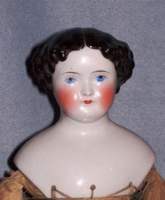 """19"""" High Brow China ~ Original Body, Layers of Antique Clothes from faraway on Ruby Lane"""