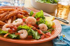 Penne and Shrimp Salad | 1 Guiding Star