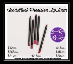 Moodstruck Precision Pencil Lip Liner Long-wearing, waterproof, smudge-proof Precision Pencils.