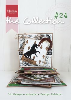 Collection #24 January 2015, Animal cards, Birthday themed cards, The Snoesjes