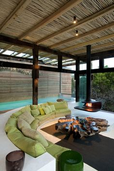 ciclus living room by Silvio Rech and Lesley Carstens Architects