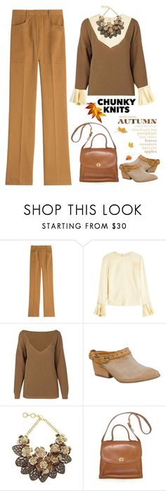 """""""Chunky knits"""" by arohii ❤ liked on Polyvore featuring Philosophy di Lorenzo Serafini, Roksanda, Boohoo, A.S. 98, Forest of Chintz, vintage, Fall, polyvorecontest and chunkyknits"""
