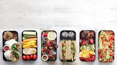 SCHOOL OR WORK LUNCH IDEAS » quick and easy & bento box style {plant-based, vegan, gluten-free}