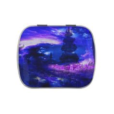 Amethyst Sapphire Bali Dreams Jelly Belly Candy Tins