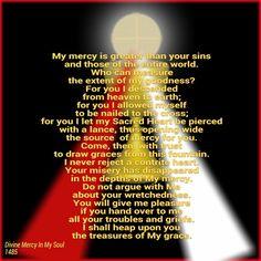 Jesus, I trust in You+++ Catholic Quotes, Religious Quotes, Catholic Prayers, Catholic Saints, Roman Catholic, St Faustina Diary, Saint Faustina, Jesus Mercy, Catholic Gentleman