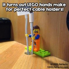 What can you do with Lego's…besides the obvious? You'll see why we are obsessed with these Lego hacks!
