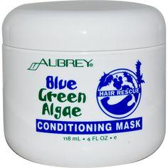 Aubrey Organics, Hair Rescue, Conditioning Mask, Blue Green Algae, 4 fl oz (118 ml)