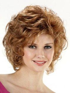 Short Wavy Capless Synthetic Wig