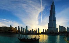 Sunsets from Dubai Mall, the view from Social House Restaurant #travel #photography