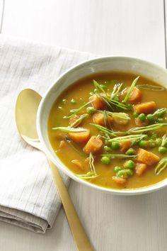 Ginger-Spiced Carrot Soup