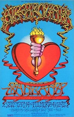 Big Brother and the Holding Company (Janis Joplin) and Santana.  Fillmore West