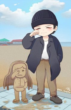 Bts Chibi, Anime Chibi, Pokemon, Taehyung Fanart, Bts Wallpaper, Bts Memes, Fan Art, Drawings, Creative