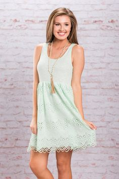 """""""Summer Studies Dress, Mint"""""""