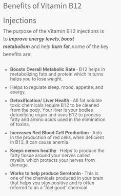 Vitamin B 12 Shots