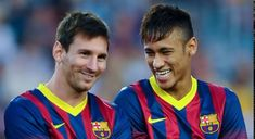 Messi and Neymar Lionel Messi, Messi Y Neymar, Messi Gif, Manchester United, Fc Barcelona, Role Models, Mac, Videos, Youtube