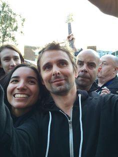 "THE GREAT HALL :: EXETER, Le Wolstenbeast en Twitter: ""Met Matt again!! http://t.co/gnbLWLLDWI"""