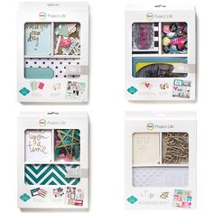 Heidi Swapp + Project Life = New Value Kits for pocket page scrapbooking it. (Summer 2014)