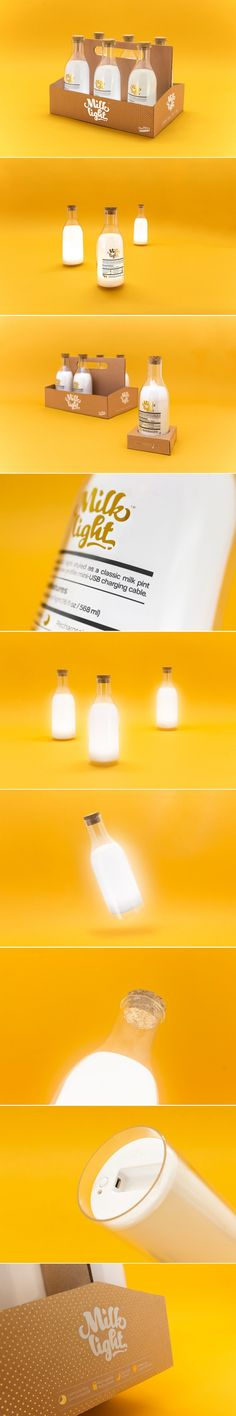 This Bottle of Milk Is Not Exactly What it Seems — The Dieline | Packaging & Branding Design & Innovation News