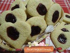 Biscotti alla marmellata e farina di mais