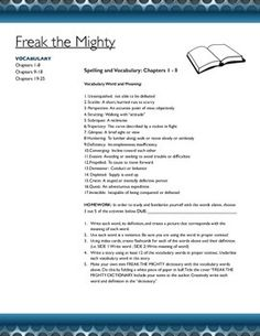 Freak the mighty compare and contrast essay