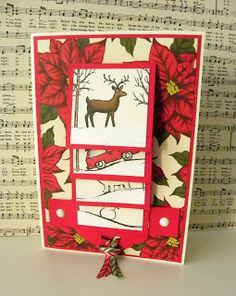 Hello and welcome! This week I was busy making some lovely waterfall cards. Keeping to the Christmas theme, I've used Cozy Christmas and W. Christmas Paper Crafts, Homemade Christmas Cards, Christmas Photo Cards, Homemade Cards, Chrismas Cards, Xmas Cards, Holiday Cards, Cards Diy, Flip Cards