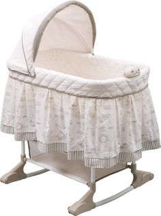 It plus an even more powerful the Delta Children Play Time Jungle Rocking Bassinet. Get yours today at Delta Children in USA. Bedside Bassinet, Baby Bassinet, Baby Cribs, Bassinet Cover, Cradles And Bassinets, Delta Children, Children Play, Portable Crib, Bedroom Decor