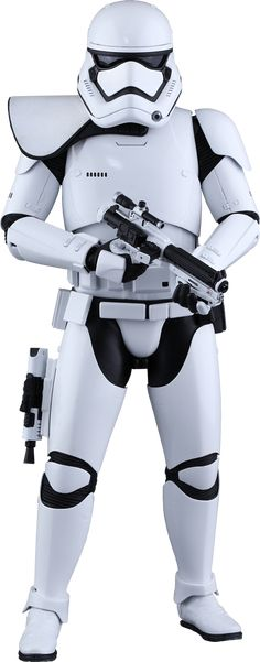 Star Wars - Hot Toys First Order Stormtrooper Squad Leader Sixth Scale Figure