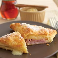 Pepperidge Farm® Puff Pastry - Baked Monte Cristo Sandwiches ~ Set aside the bread and serve this ham and cheese melt on puff pastry instead.  Sweet and savory never tasted so good.      RSmith