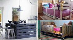 Top 28 Insanely Genius DIY Pallet Indoor Furniture Designs That Everyone Must See | Idees And Solutions