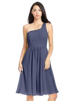 AZAZIE CAMELLIA. Camellia is a fun knee-length dress with an A-line cut. #Bridesmaid #Wedding #CustomDresses #AZAZIE