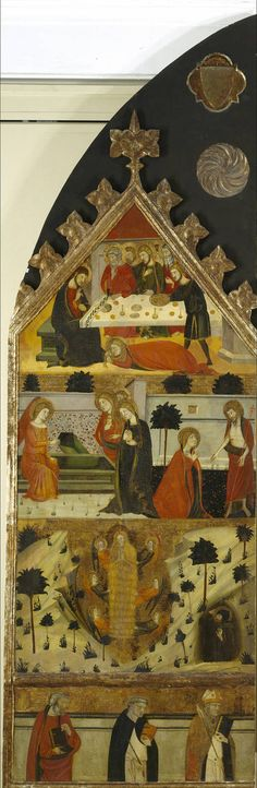 Jaime Serra (Catalonian painter, died after 1405) - Stories of Mary Magdalene. 1356-1359. Museo Nacional del Prado