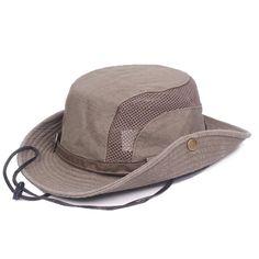 1dc7ba8a841 Geersidan Men S Bob Bucket Hats Fishing Wide Brim Hat Uv Protection Cap Men  Sombrero Gorro Sun Hat For Men