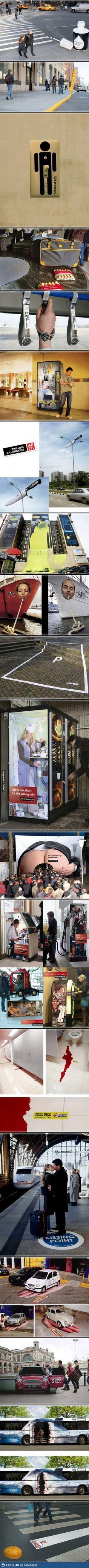 Werbung richtig platzieren - Win Bilder