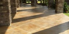 Textured Concrete Overlay