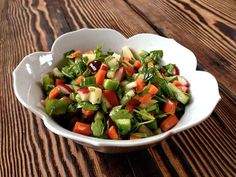 Radish and Jicama Tabbouli   Autoimmune Paleo if Jicama is removed.  add 1 beet, half an onion and a splash of ground pepper.