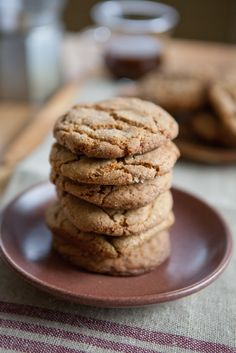 Soft and Chewy Ginger Cookies | A Sweet Spoonful