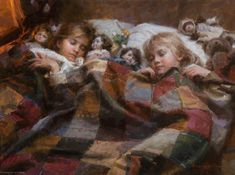 The Sleepover Morgan Weistling - Fine Artist