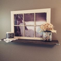 Window Frame #diy #rustic #homedecor