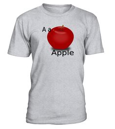 A for Apple  #gift #idea #shirt #image #funny #education #job #new #best #top #hot