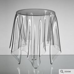 Illusion table - Moderne sofabord i klar plast online i webshop