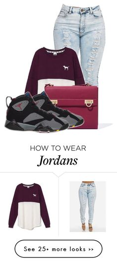 """""""Untitled #221"""" by queen-dope on Polyvore featuring Victoria's Secret and Salvatore Ferragamo"""