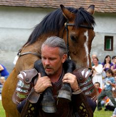 """The Hungarian cowboys, called """"Gulyas"""", have a very close relationship with their horses. Great Plains, Danube River, Medieval Castle, Central Europe, Budapest Hungary, Wine Country, Cowboys, Tao, Folk Art"""